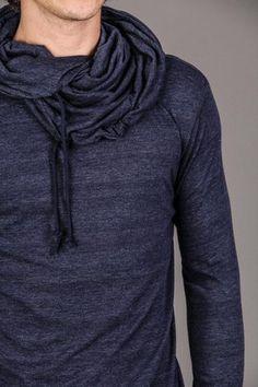 Cowl collar hoodie...looks warm!