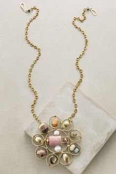 Musetta Pendant Necklace - anthropologie.com