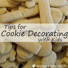 Pieces by Polly: Cookie Decorating Party! - Tips for Cookie Decorating with Kids