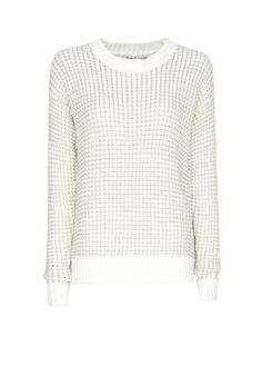 MANGO - Metallic chunky knit sweater
