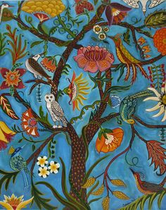 Tree Of Life III new original painting 16x20 by Catherinenolin