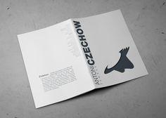 #bookscover, #editorialdesign #AntonCzechow
