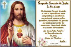 Imágenes de Cecill: Oración al Sagrado Corazón de Jesús, Ruega por Nosotros