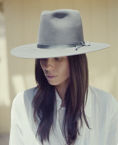 The Female Frontier: Hats On with Tasya van Ree and Stetson | Twin Magazine