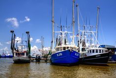 Venice Louisiana Shrimp Boats