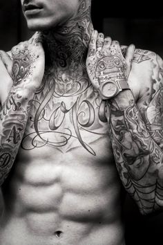 Tattooed guy.