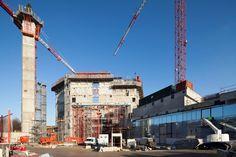 jean nouvel: philharmonie de paris under construction - designboom | architecture