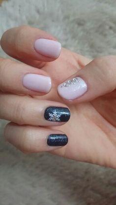 #pink#winter#nail#셀프네일#겨울#핑크#글리터