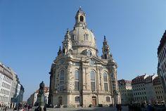 Frauenkirche, Dresden Kirchen, Dresden, Notre Dame, Traveling, Building, Viajes, Travel, Buildings, Trips
