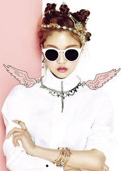 koreanmodel:  Yeo Hyewon for Vintage Hollywood Spring 2014 Lookbook