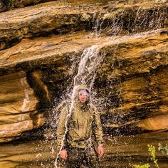 That's one way to prove that your Arc'teryx Alpha LT is waterproof. (via Andrew Tuohy)