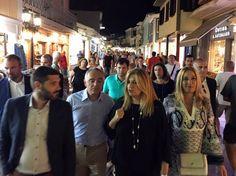 Η επίσκεψη της Φώφης Γεννηματά στην Λευκάδα | My Lefkada