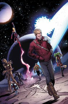 GUARDIANS OF THE GALAXY #27 BRIAN MICHAEL BENDIS (W) • VALERIO SCHITI (A/C)