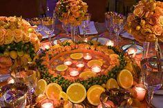 Orange Pantone Party Decor