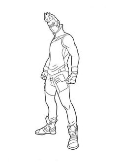 Fortnite Coloring Pages Coloring Pages For Boys Free