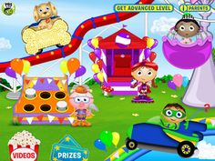 SUPER WHY Phonics Fair helps young readers practice sounds and spelling with the familiar Super Reader friends. A good variety of activities, courtesy of PBS KIDS.