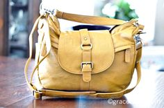 kelly moore bag: b-hobo mustard - a very stylish camera bag...must have for traveling in italy!