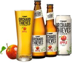 Orchard Thieves Cider - The Thieved Apple Tastes Best