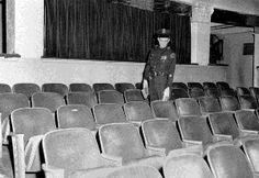 Lee Harvey Oswald's seat at the Texas Theatre