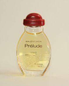 Vintage Rare Prelude BALENCIAGA Full mini bottle perfume miniature glass bottle