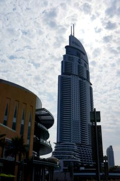 The Address Downtown Dubai in UAE.