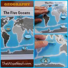 Amazing website for homeschoolers : Oceans Collage