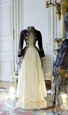 Mme Deshayes | Male attire created ca 1770 and transformed into a jacket dress ca 1877