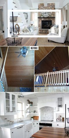 PASSPORT: Before and After Minnesota Farmhouse Cabin Renovation and Makeover Tour