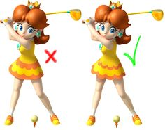 I'm happy to open the first grouped sending here on Pinterest.  It will be take place this coming Friday 29 of July  During this grouped sending, we will ask :   -Daisy in more games and main games series -We'll also thank Nintendo for our long-awaited Daisy amiibo announced -We will ask Nintendo to arrange the Golf dress of Daisy like in this picture.  Of course, you can ask what you want else but please ensure yourself you'll include these points listed above.
