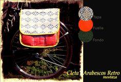 Alforjas para Bicicletas, en http://ofeliafeliz.com.ar https://www.facebook.com/ruedosenrodados
