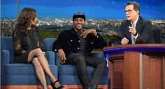Pusha T Talks to Stephen Colbert About Voting Rights for Felons   King Push and Colbert got real about the 2016 election, discussing getting felons who have already served their time the rights that they deserve.