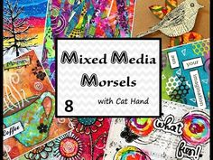 Mixed Media Morsels 5 - Tissue Paper Background - YouTube