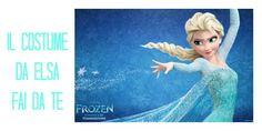 Costume di Carnevale da Elsa fai da te - Frozen