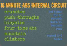 ab interval circuit