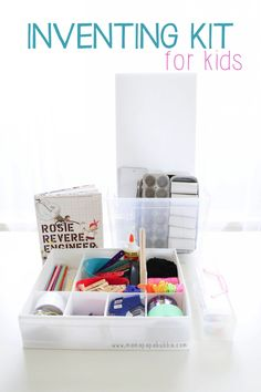 Here's how to make a DIY inventor's kit for budding engineers!
