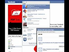 Inserer un pdf sur votre fan page Facebook