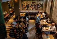 Burrowed under Sydney's bustling CBD, Rabbit Hole specialises in fancy cocktails and modern French cuisine. Rabbit Hole, Sydney, Cocktails, Restaurant, Fancy, Bar, Dining, Craft Cocktails, Food