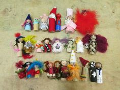 """A 'Pegkin' made for each day in December leading up to Christmas. They all have their own characters - from Brooklyn StrongStart ("""",) Days In December, Small World Play, Finals Week, Preschool Kindergarten, Eyfs, Children And Family, Imaginative Play, Raising Kids, Brooklyn"""