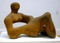 Henry Moore sculptures are tangled representations of the human figure stretched and distorted. Considering Moore was a war artist, how could this link to the concept of 'disorder'