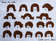hair fieltro