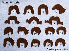 felt hair styles