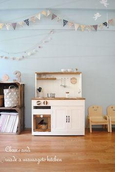 2WAYままごとキッチン作りました&掲載誌のお知らせ*簡単木工家具STYLE  Chairs and. ナチュラルなインテリアと雑貨と手作りと、日々のこと。 Ameba (アメーバ)