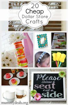 20 Cheap Dollar Store Crafts - Mummy Deals
