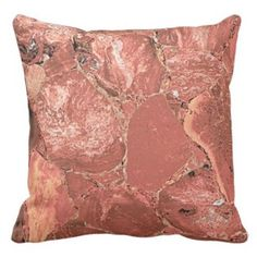 Red Jusper Precious Stones Print Pillow    Red throw pillows bring life and a bold vibe to any room of your home. You can make guests feel comfortable as the color red promotes a warmth and inviting feeling. You will appreciate that red accent pillows look fantastic in a bedroom, living room or even study. In addition you can combine different patterns such as stripes to create a unique look. Additionally I think this would make an excellent housewarming gift.
