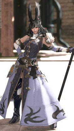 Female Character Design, Character Design Inspiration, Character Art, Final Fantasy Artwork, Final Fantasy Xiv, Fantasy Women, Fantasy Girl, Fantasy Characters, Female Characters