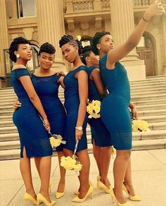 Ohhh I love short cocktail dresses for bridesmaids dresses. African Attire, African Fashion Dresses, African Dress, African Traditional Wedding Dress, African Wedding Dress, Wedding Attire, Wedding Gowns, Wedding Bride, Lace Dress Styles