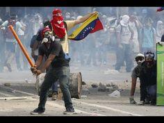 DANGEROUS NEW TREND AT RIOTS IN VENEZUELA