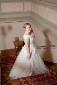 Real wedding in Finland - Tulle dress made by Pukuni (www.pukuni.fi)
