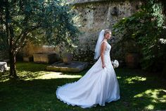 The Bride waitig for that Big Moment. by Romantic Weddings on Lake Garda Most Romantic, Romantic Weddings, Lake Garda Wedding, Italy Wedding, Marie, Photo Galleries, In This Moment, Wedding Dresses, Pins