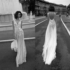 Strap Tulle Applique Bridal Gown Beach Wedding Dress Custom Size 2 4 6 8 10 12 +